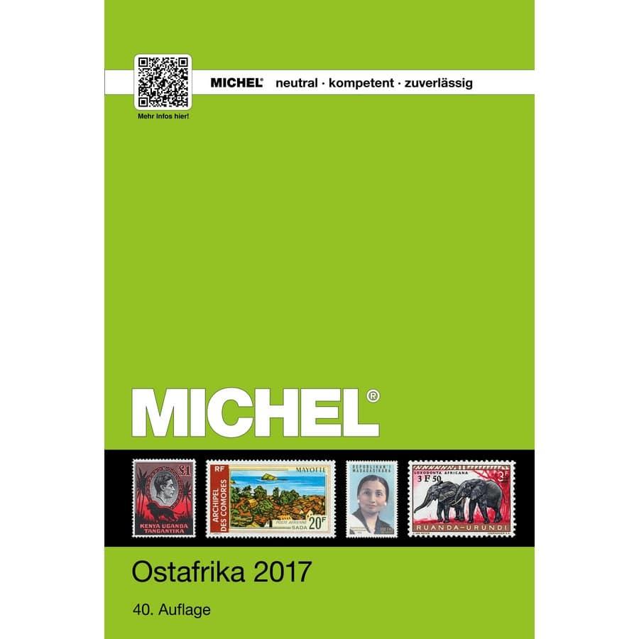 Michel Catalog Ostafrika 2017 (ÜK 4.2)