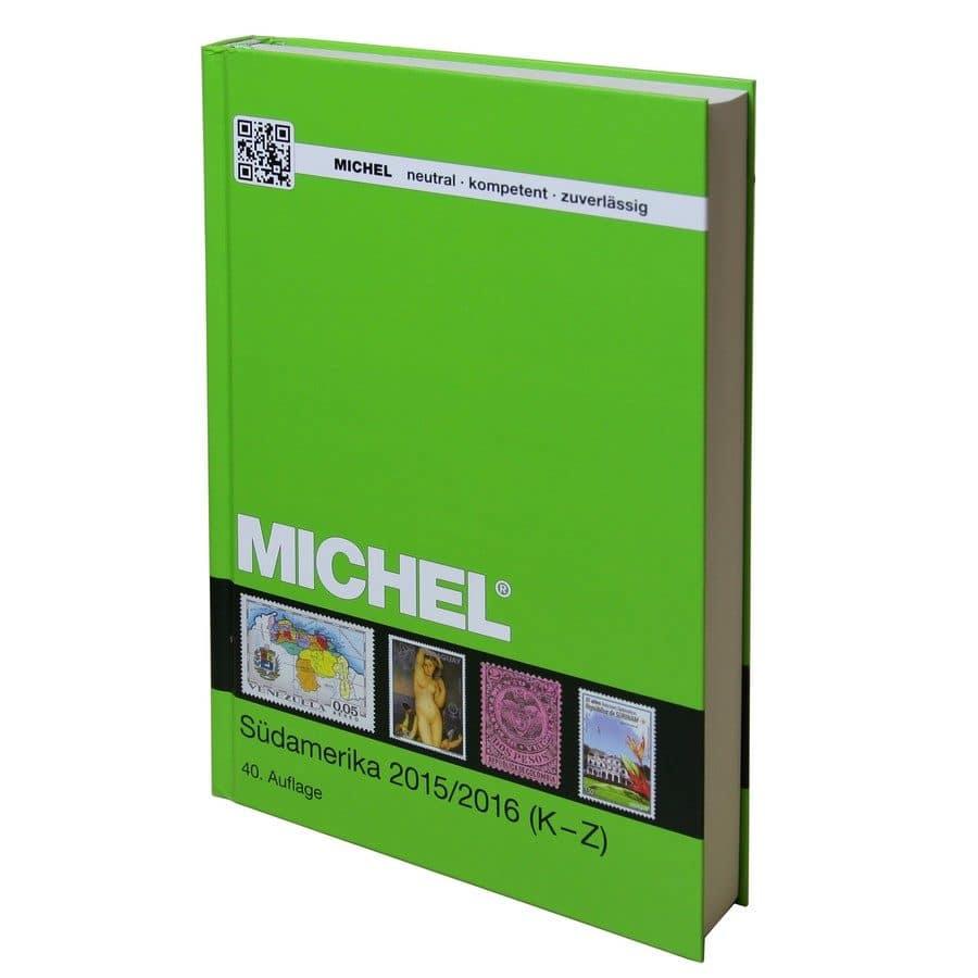Michel Catalog Südamerika 2016/2017 (ÜK 3/2) – Volume 2 K-Z Countries