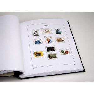 DAVO album pages setsAndorra Spain 2011