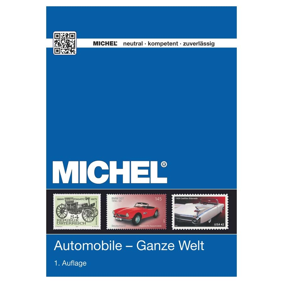 Michel Catalog Automobile Ganze Welt 2015