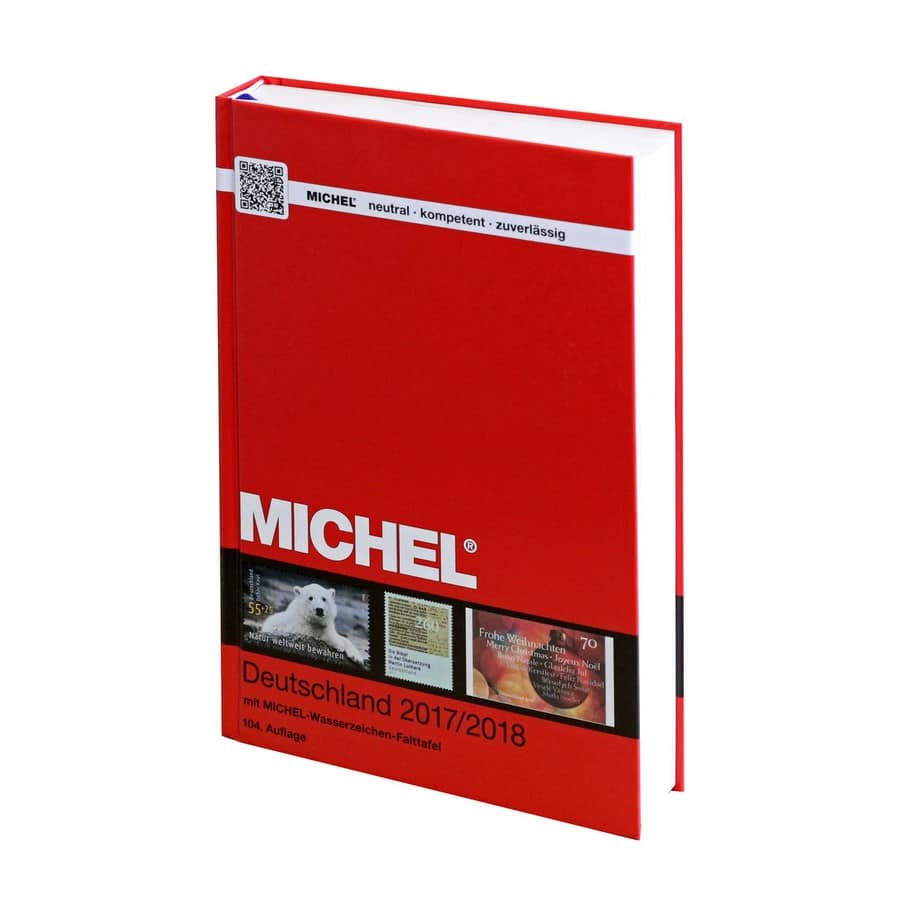 Michel Catalog Deutschland 2017 2018 104th edition
