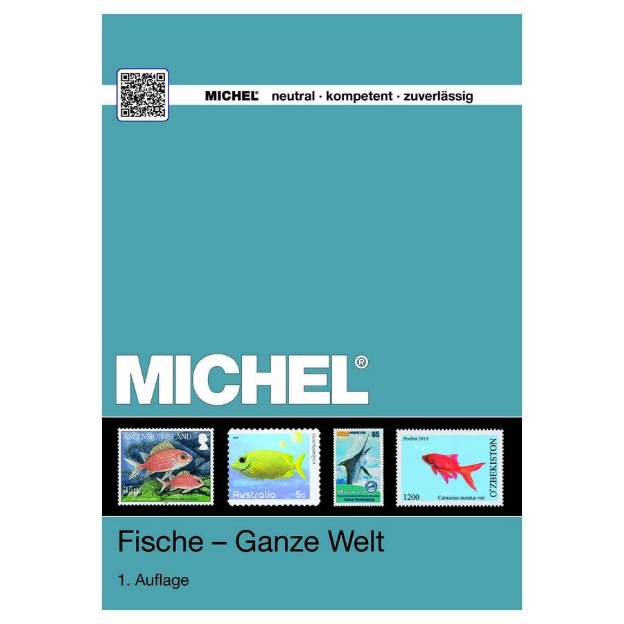 Michel Catalog Fische Ganze Welt 2017
