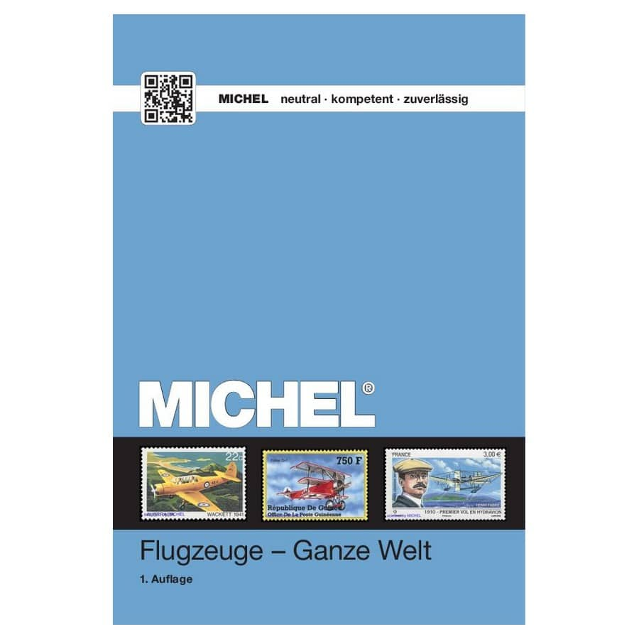 Michel Catalog Flugzeuge - Ganze Welt 2016