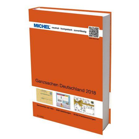 Michel Catalog Ganzsachen Deutschland 2018 22nd edition