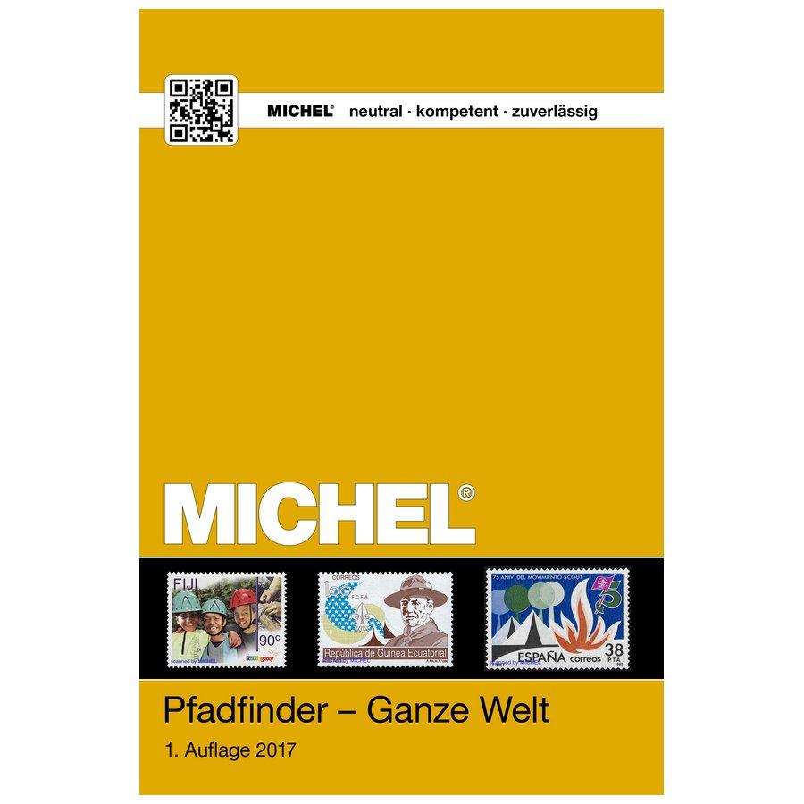 Michel Catalog Pfadfinder Ganze Welt 2017/2018 - Scouts