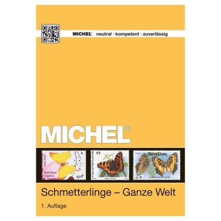 Michel Catalog Schmetterlinge - Ganze Welt 2015