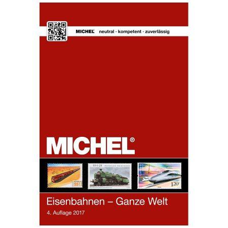 Michel Catalog Eisenbahnen Ganze Welt 2017/2018