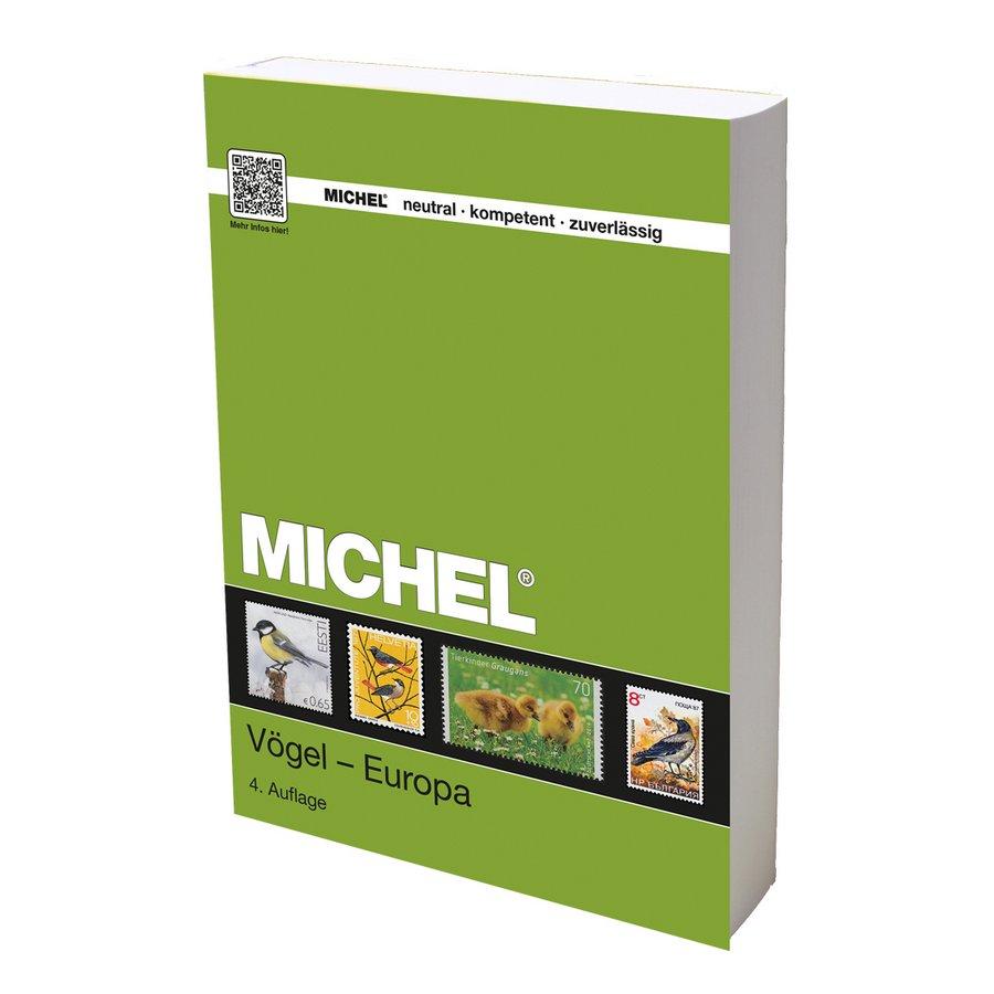 Michel Catalog Vögel Europa 2017/2018
