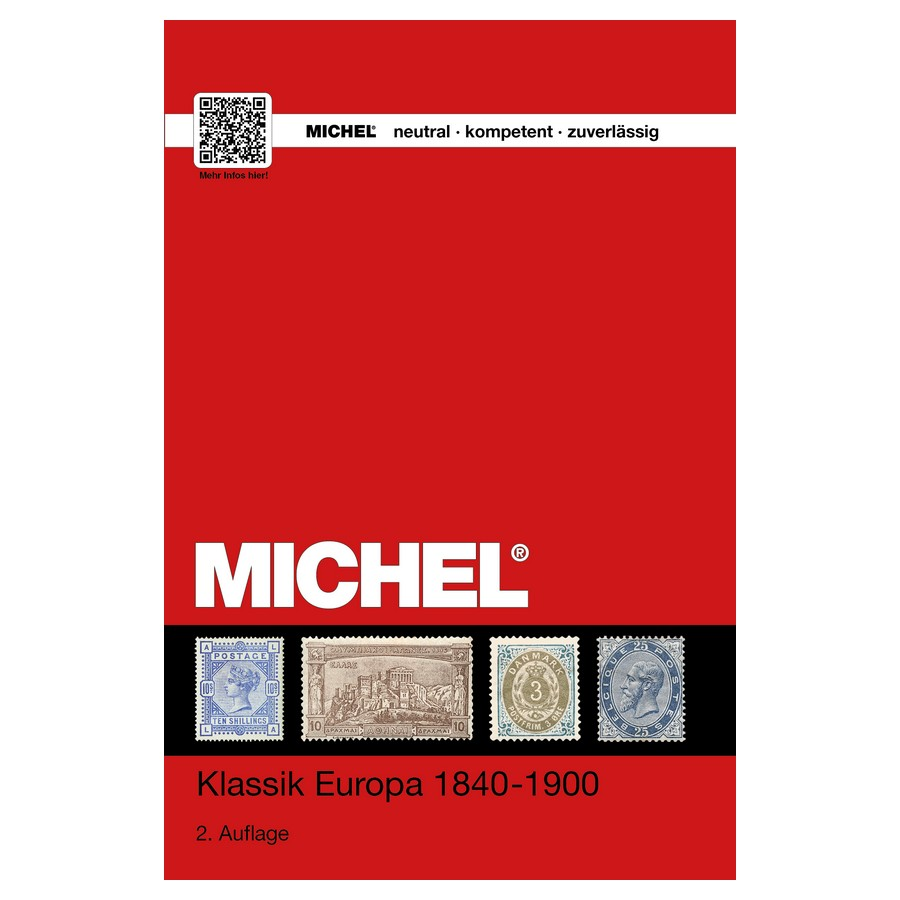 Michel Catalog Klassik Europa 1840-1900 2nd Edition