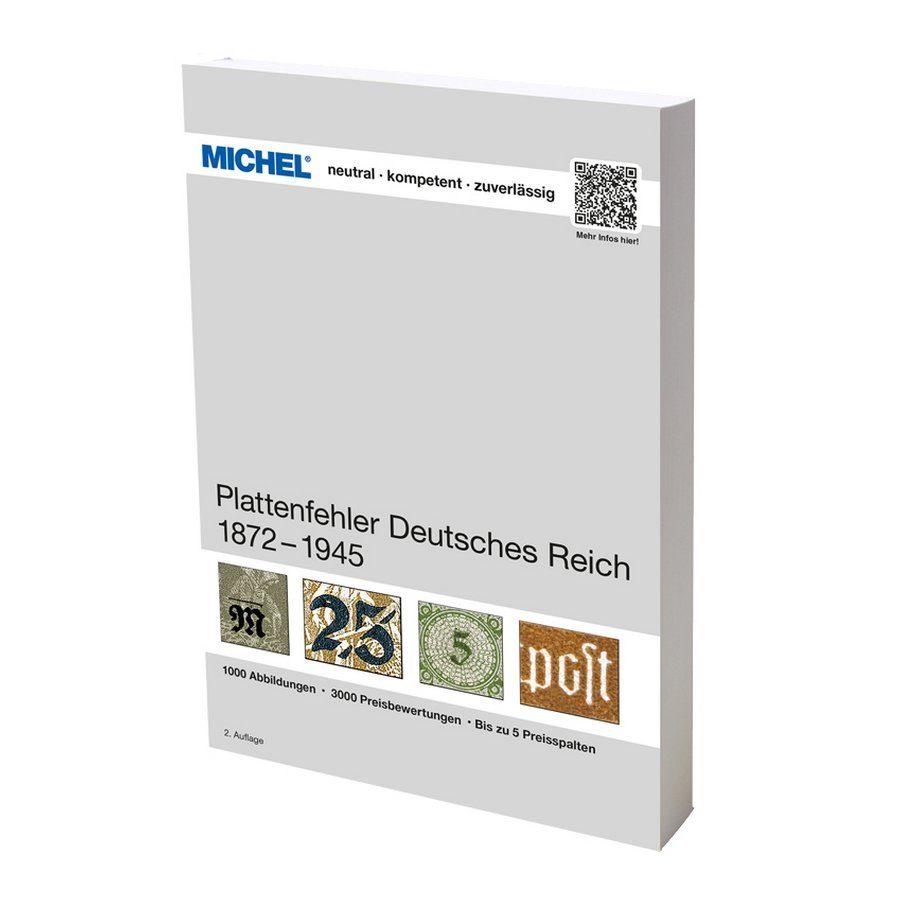 Michel Handbook Plattenfehler Deutsches Reich (1875-1945)