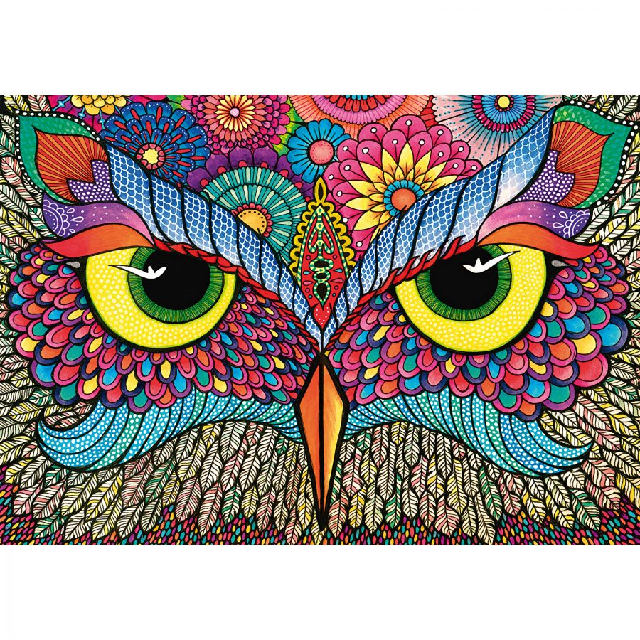 Wentworth It's a Hoot! Jigsaw Puzzle 500 pc 510x360mm Extra Difficult