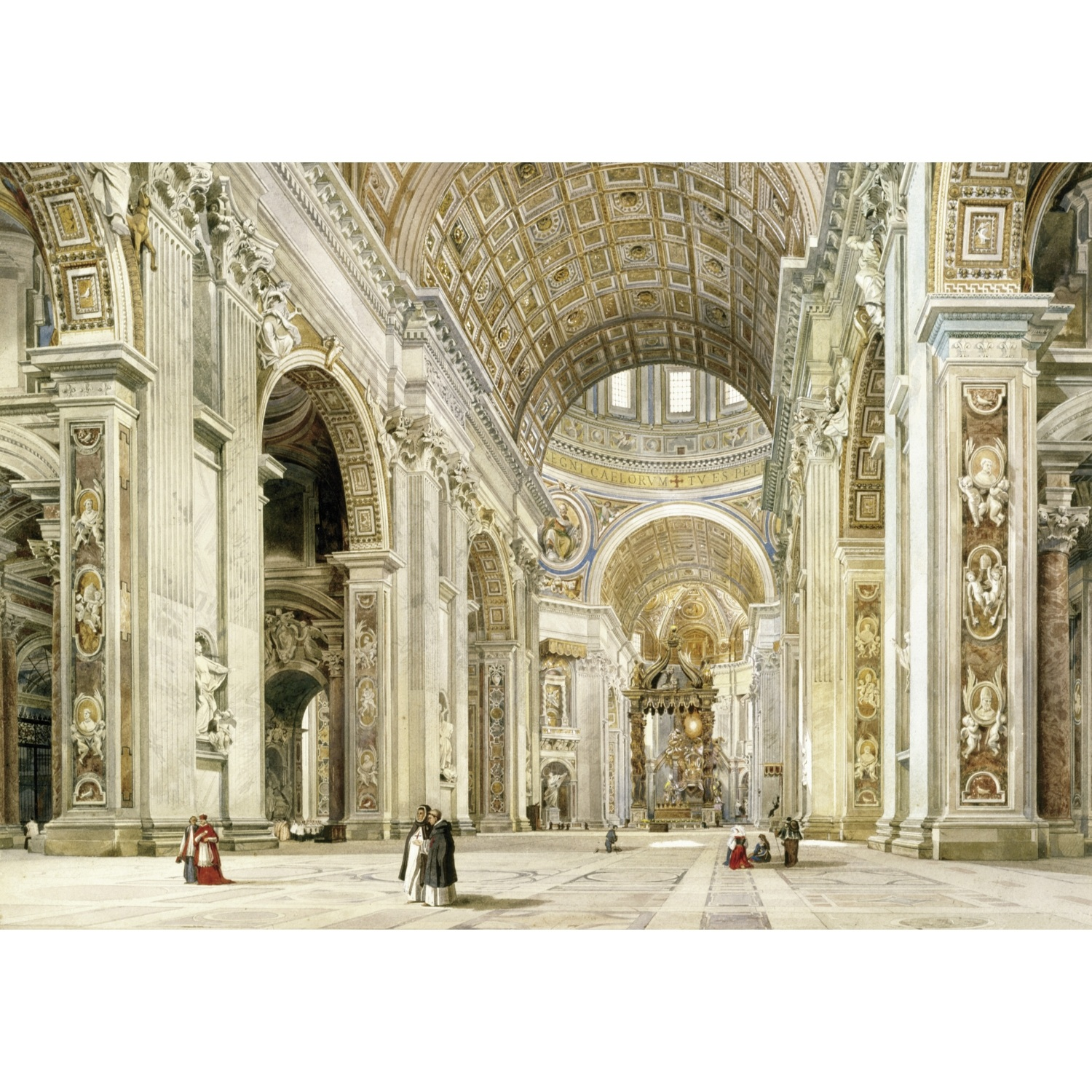 Wentworth Interior of St Peter's Rome