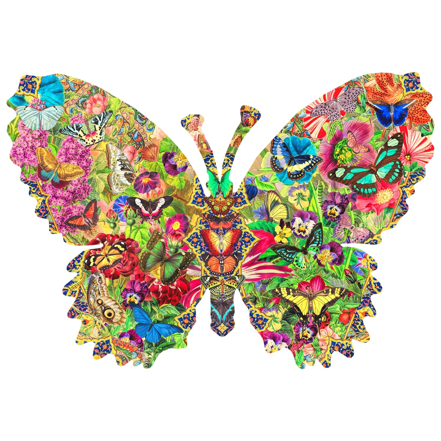 Wentworth Butterfly Wooden Jigsaw Puzzle