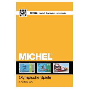 Michel Catalog Olympische Spiele 2017 2nd edition / Michel Catalog Olympic Games 2017 2nd edition