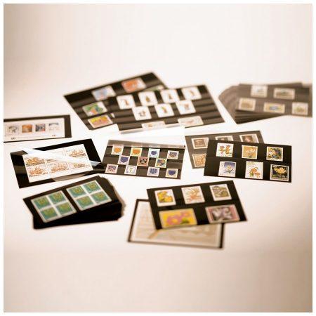 Leuchtturm Stockcards PVC/PS Black