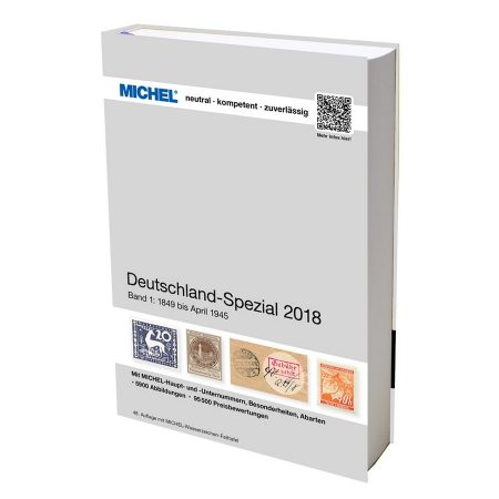 Michel Catalog Deutschland-Spezial 2018 Volume I Band I
