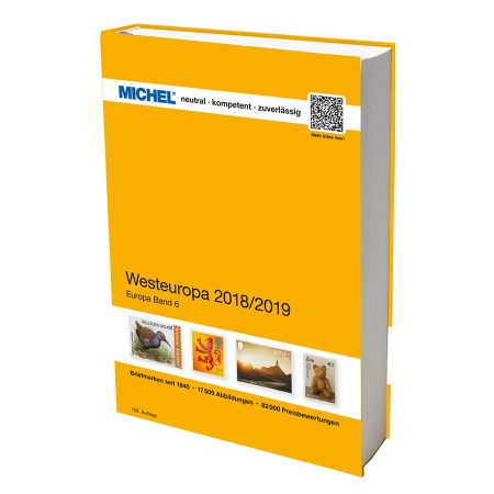 Michel Catalog Westeuropa 2018 2019 EK6 103rd edition