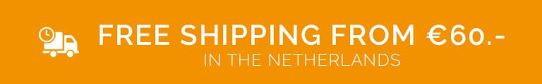 Philatelicly free shipping from €60.- in The Netherlands