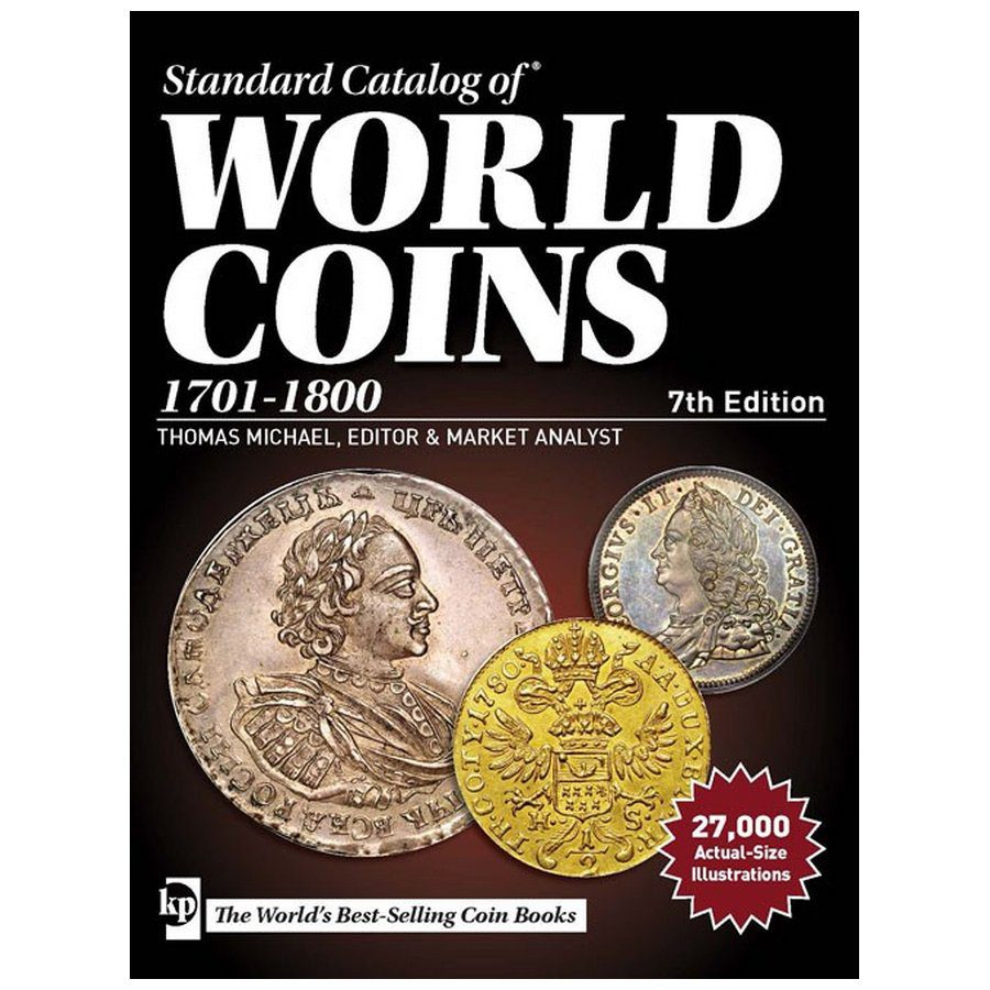 Standard Catalog Of World Coins Wiring Library Honda Nu50 Diagram Krause 1701 1800 7th Edition