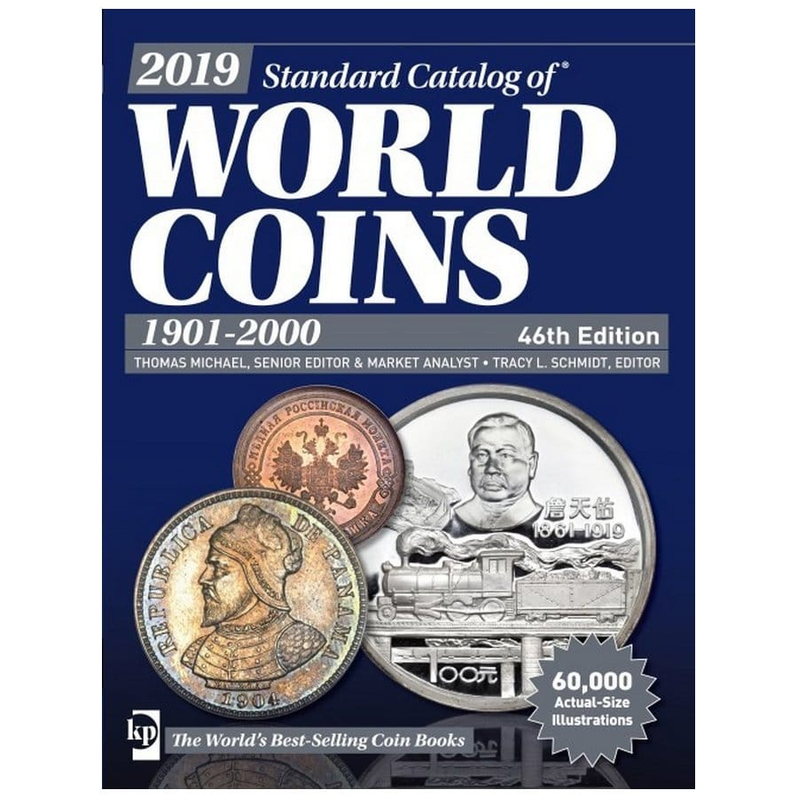 2019 Krause Standard Catalog of World Coins, 1901-2000, 46th Ed