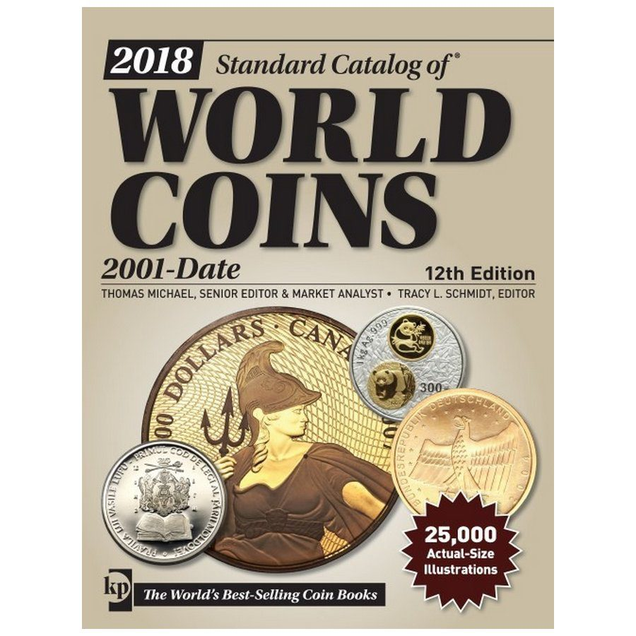 2018 Krause Standard Catalog of World Coins, 2001-Date, 12th Ed