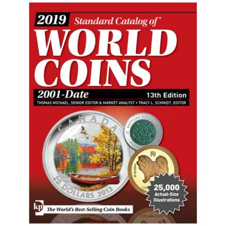 2019 Krause Standard Catalog of World Coins, 2001-Date, 13th Ed