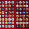 Champagne cap collecting