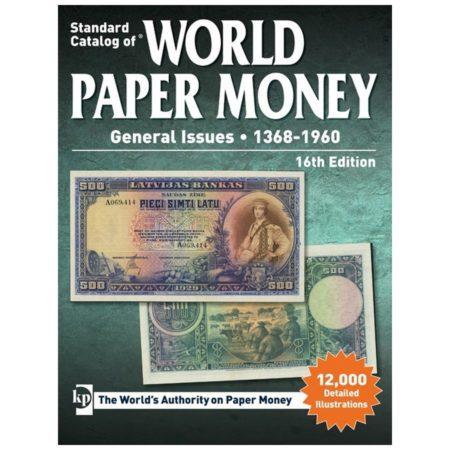 2017 Krause Standard Catalog of World Paper Money, General Issues, 1368-1960