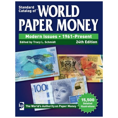 2018 Krause Standard Catalog of World Paper Money, Modern Issues, 1961-Present