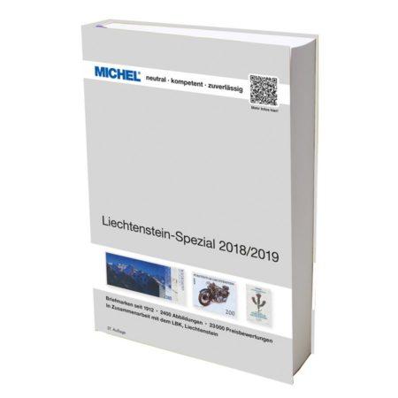 Michel Catalog Liechtenstein-Spezial 2018/2019