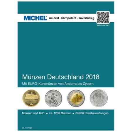 Michel Catalog Münzen Deutschland 2018