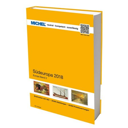 Michel Catalog Südeuropa 2018 (EK 3)