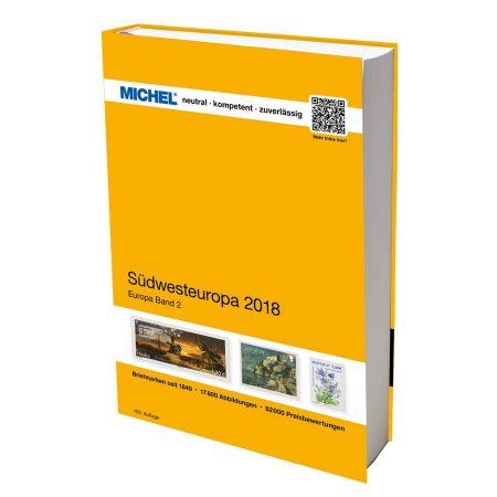 Michel Catalog Südwesteuropa 2018