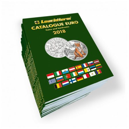 Leuchtturm CATALOGUE EURO Coins banknotes 2018 English
