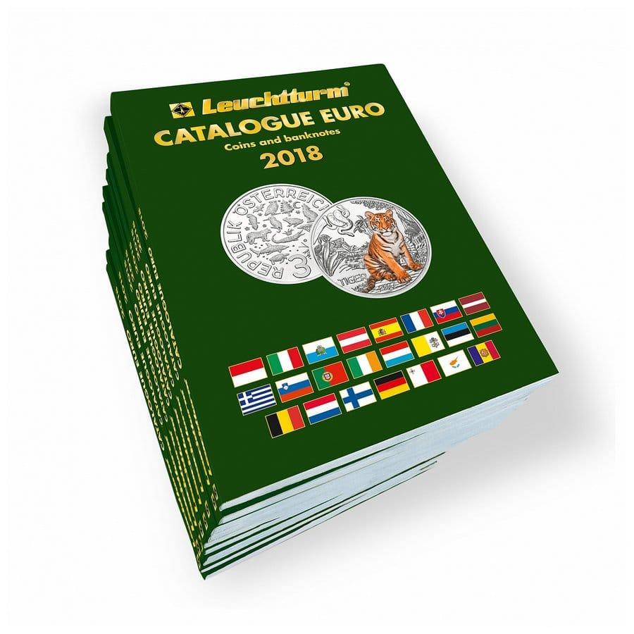 Leuchtturm CATALOGUE EURO Coins banknotes 2018 English