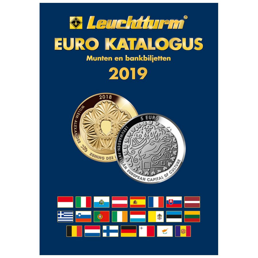 Leuchtturm Catalogue Euro Coins Banknotes 2019 Philatelicly
