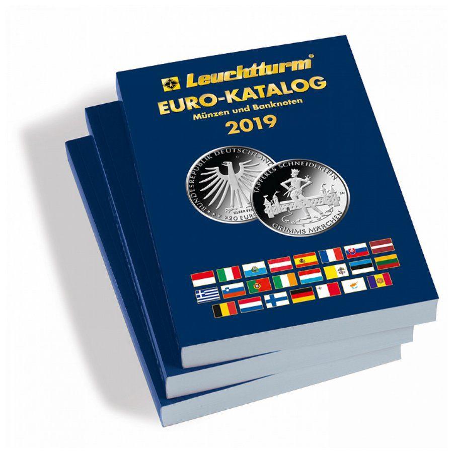 Leuchtturm Catalogue Euro Coins Banknotes 2019 Philatelicly