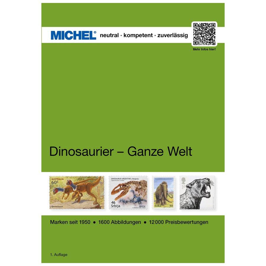 Michel Catalog Dinosaurier – Ganze Welt 2019