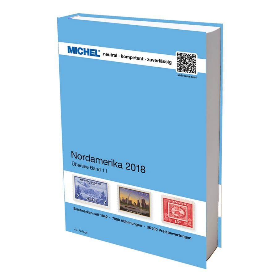 Michel Catalog Nordamerika 2018 42nd edition