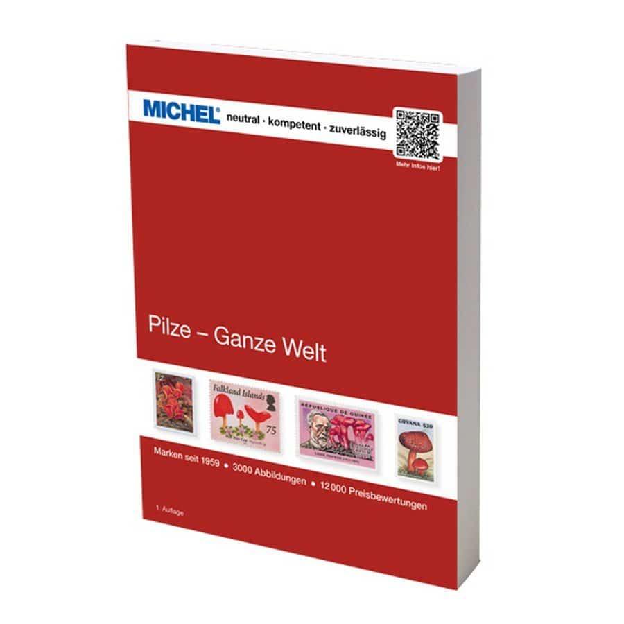 Michel Catalog Pilze – Ganze Welt 2018