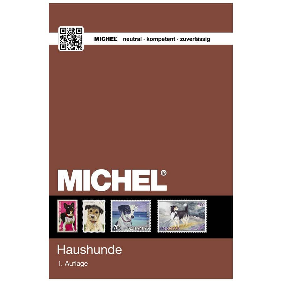 Michel Catalog Hunde Ganze Welt 2018