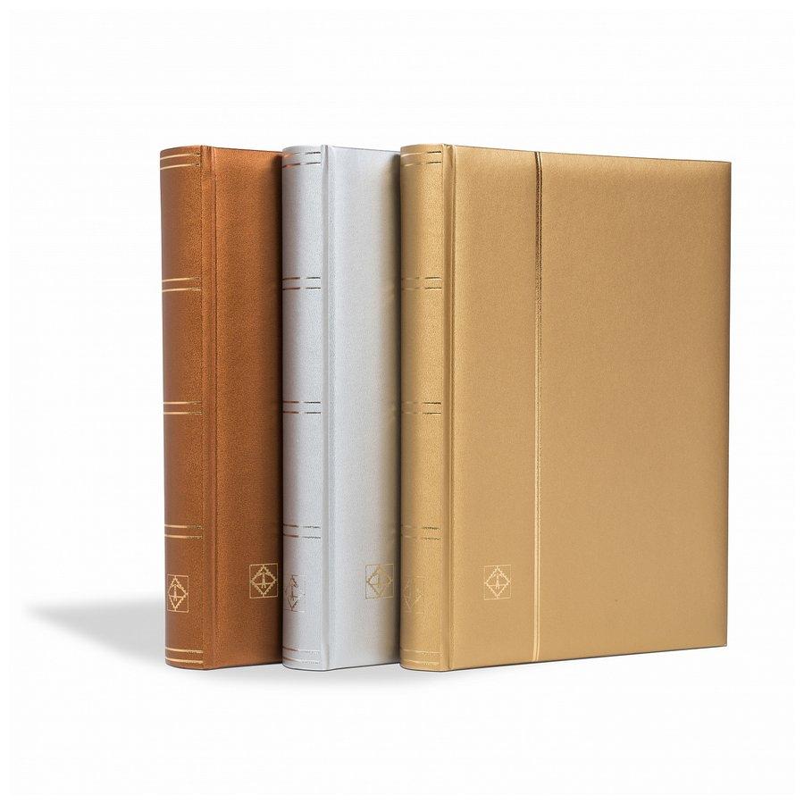 """Leuchtturm Stockbooks COMFORT """"Metallic Edition"""""""