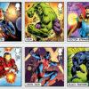 Marvel Comics Stamps - Royal Mail
