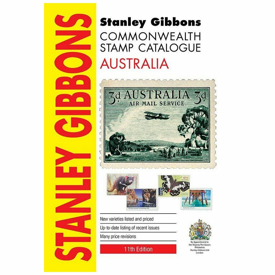 Stanley Gibbons Australia Stamp Catalogue 11th Edition