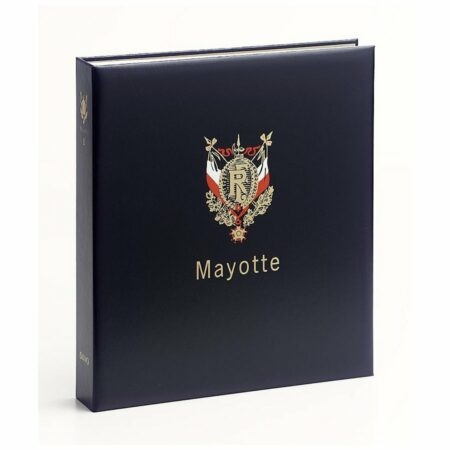DAVO Stamp Album Binders Mayotte