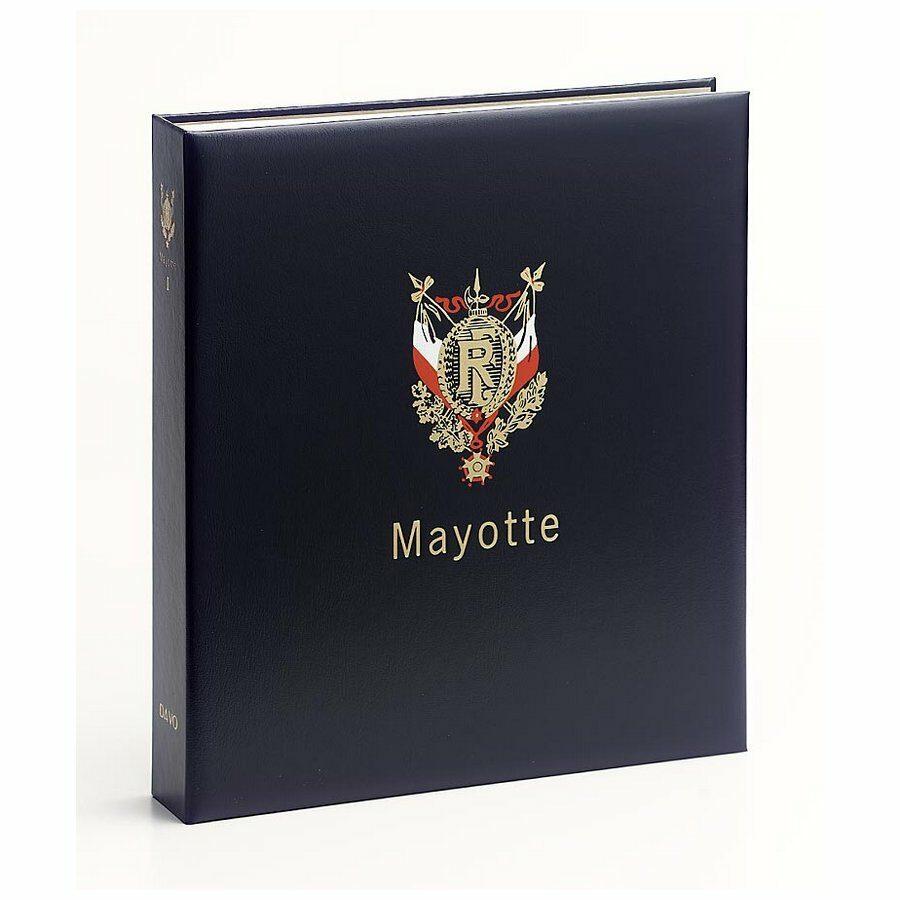 DAVO Stamp Album Binders Mayotte