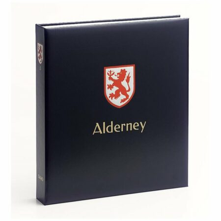 DAVO Stamp Album Binders Alderney