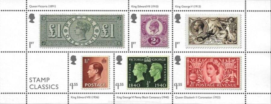 Kings & Queens of Great Britain and Philately