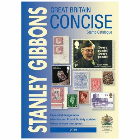 Stanley Gibbons Great Britain Concise Stamp Catalogue 2019