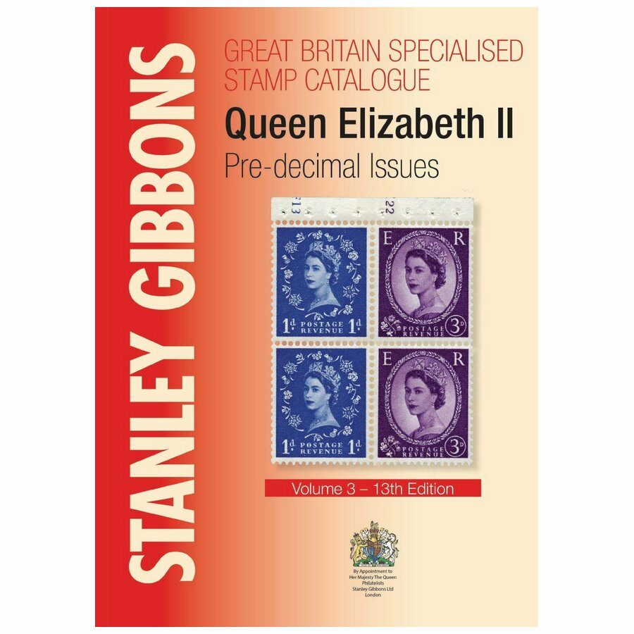 Stanley Gibbons Great Britain Specialised Stamp Catalogue QEII Pre-decimal Issues 13th edition